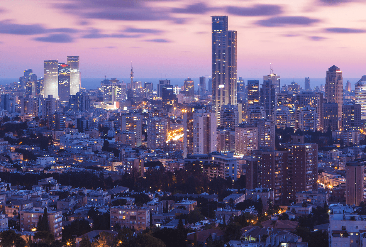 Home page banner - Tel Aviv picture