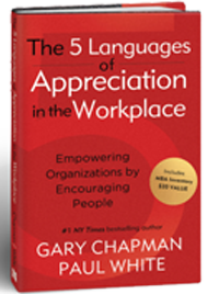 0918 - The 5 Languages of Appreciation in the Workplace book